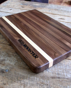 hand crafted hardwood cutting board