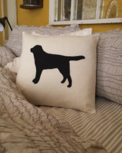 dog-needle-felted-pillow